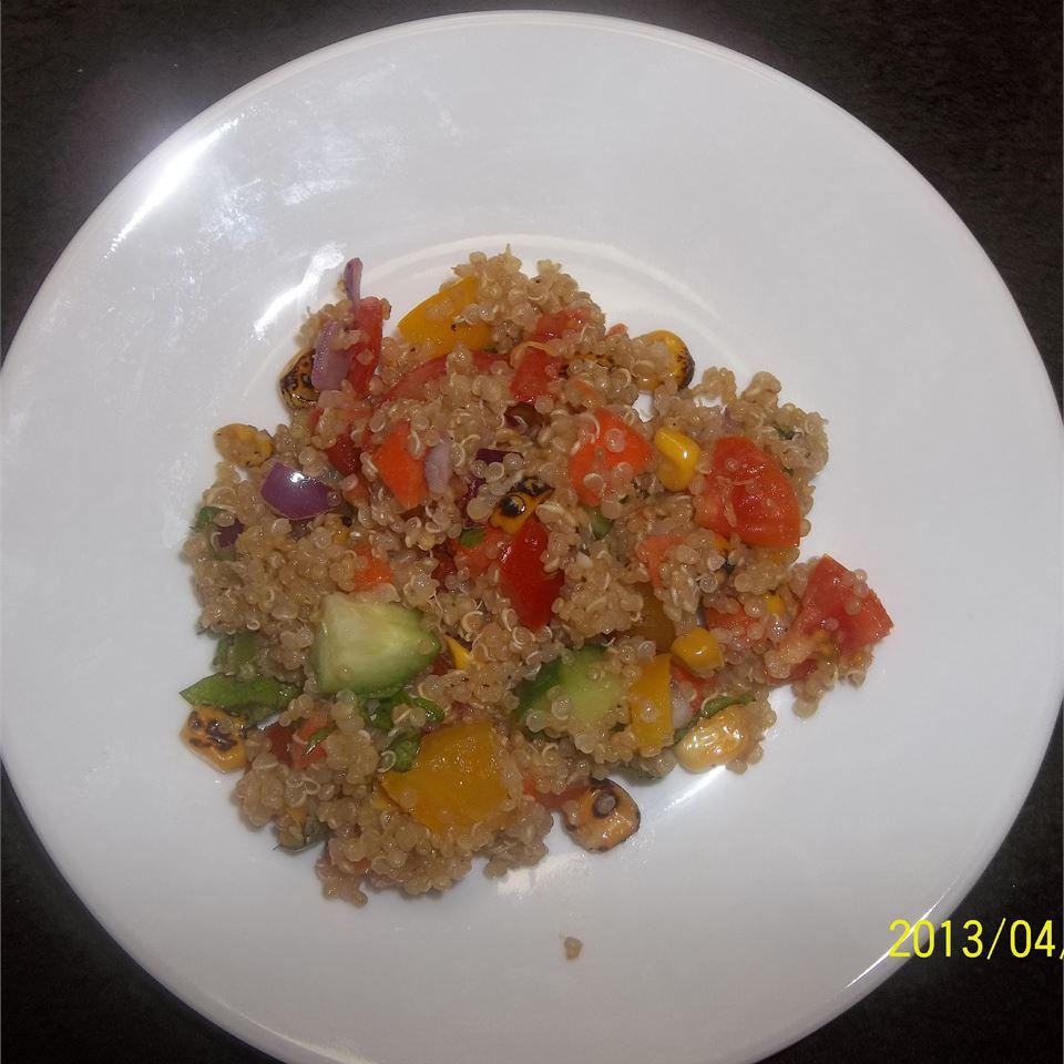 Quinoa Vegetable Salad BevKat