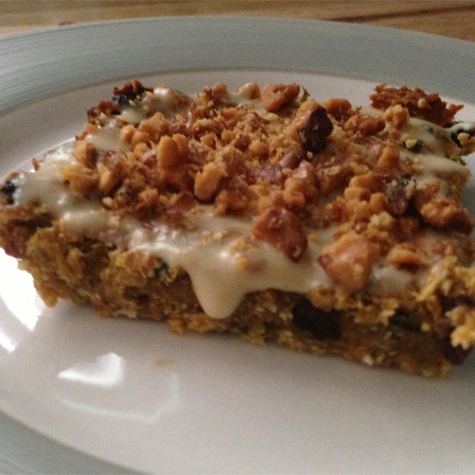 Zucchini-Coconut Cookie Bars Trish Aguilar