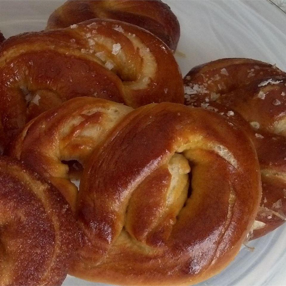 Pretzel Bread FNChef