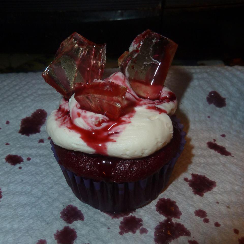 Bloody Broken Glass Cupcakes