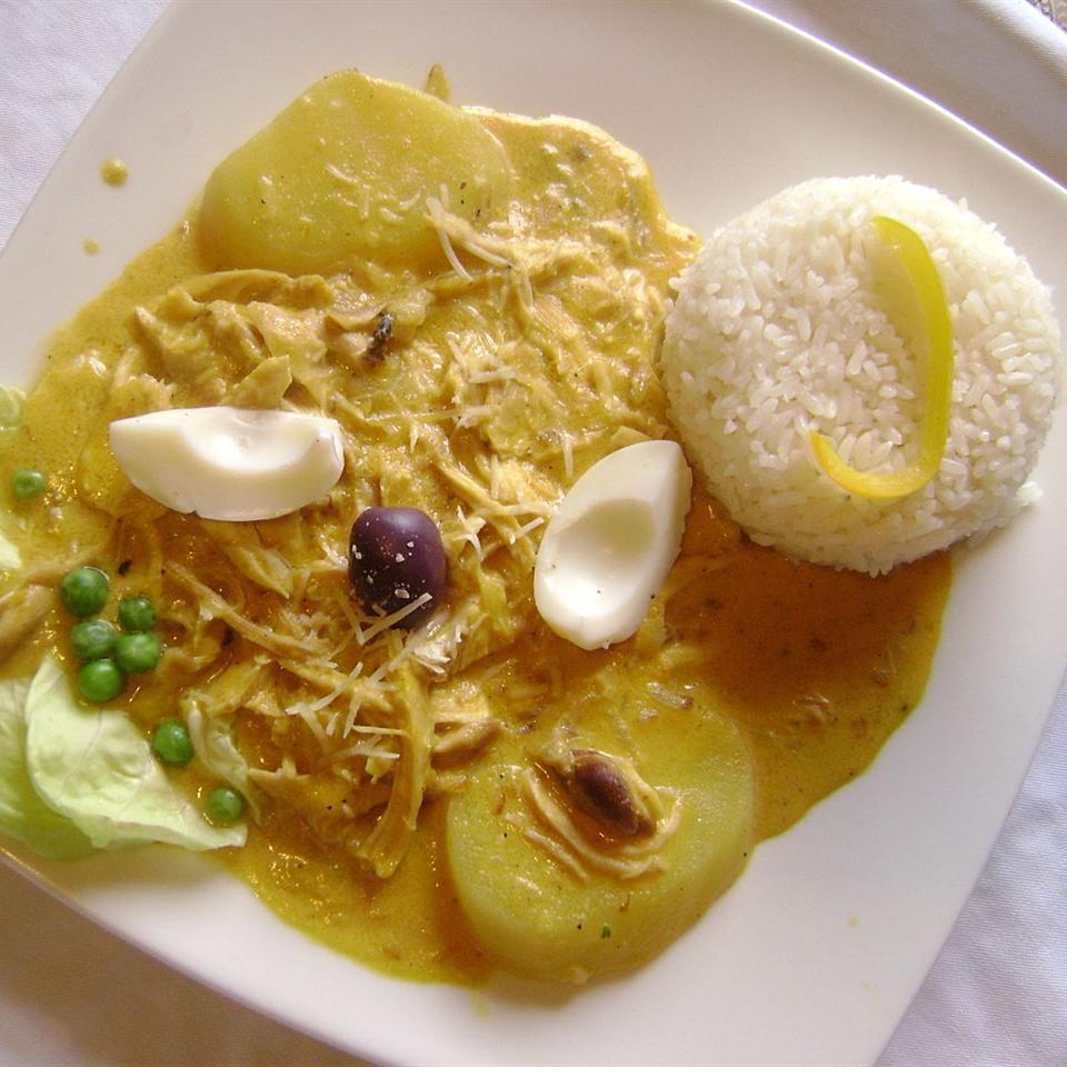 Peruvian Aji Amarillo Cheese Sauce