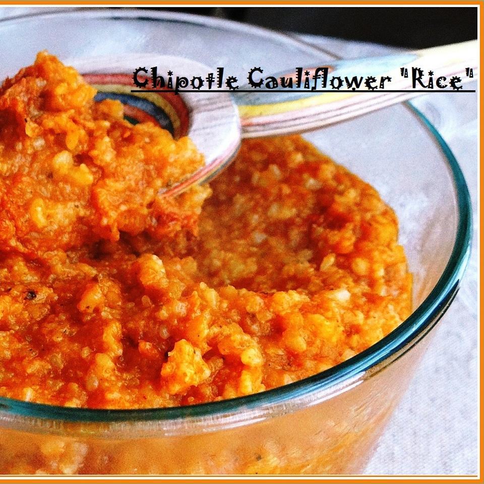 Chipotle Cauliflower 'Rice'