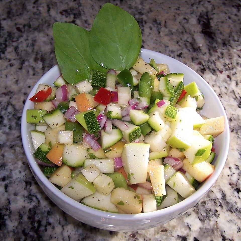 Apple and Zucchini Salad Doc Simonson