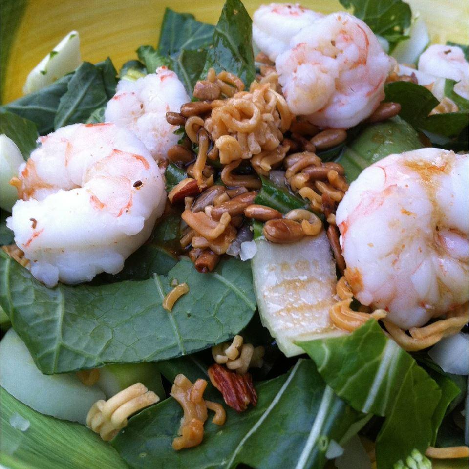 Crunchy Ramen-Bok Choy Salad