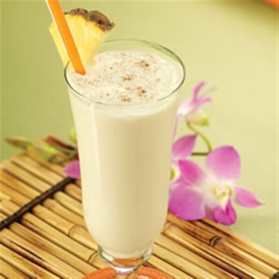 creamy pineapple shake