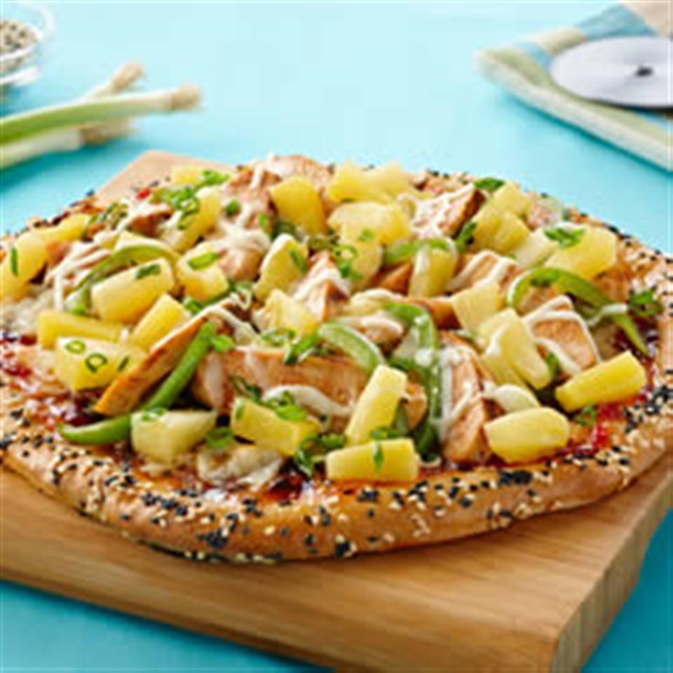 Sweet Sesame Chicken Pizza