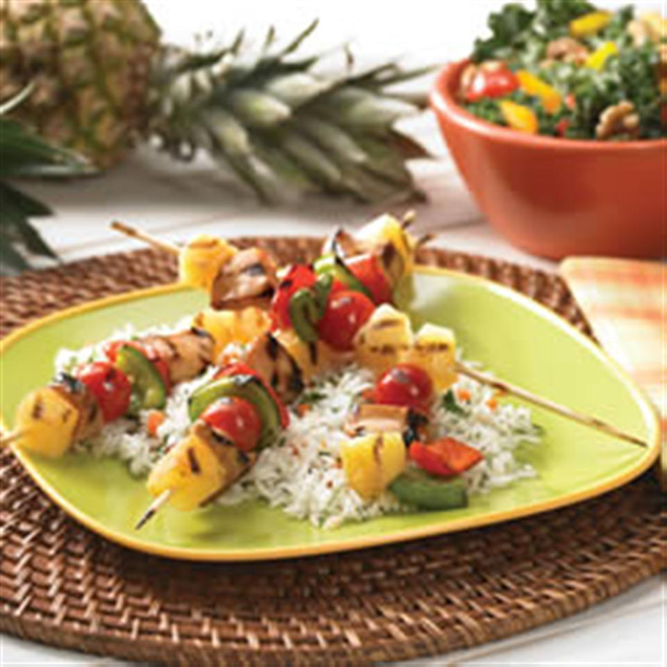 Easy Teriyaki Kabobs from DOLE®