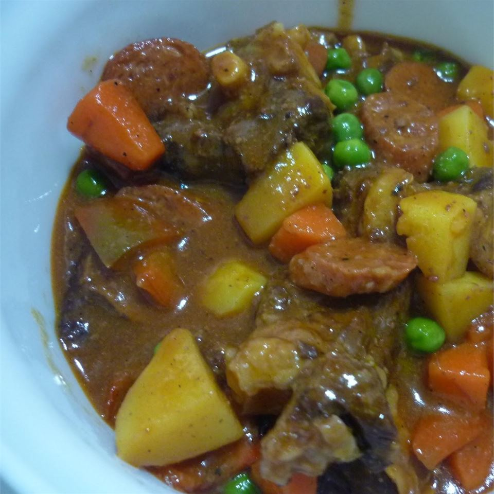Caldereta (Filipino Beef and Chorizo Stew) lueann