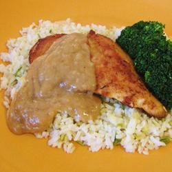 Chicken with Rice and Gravy Linda