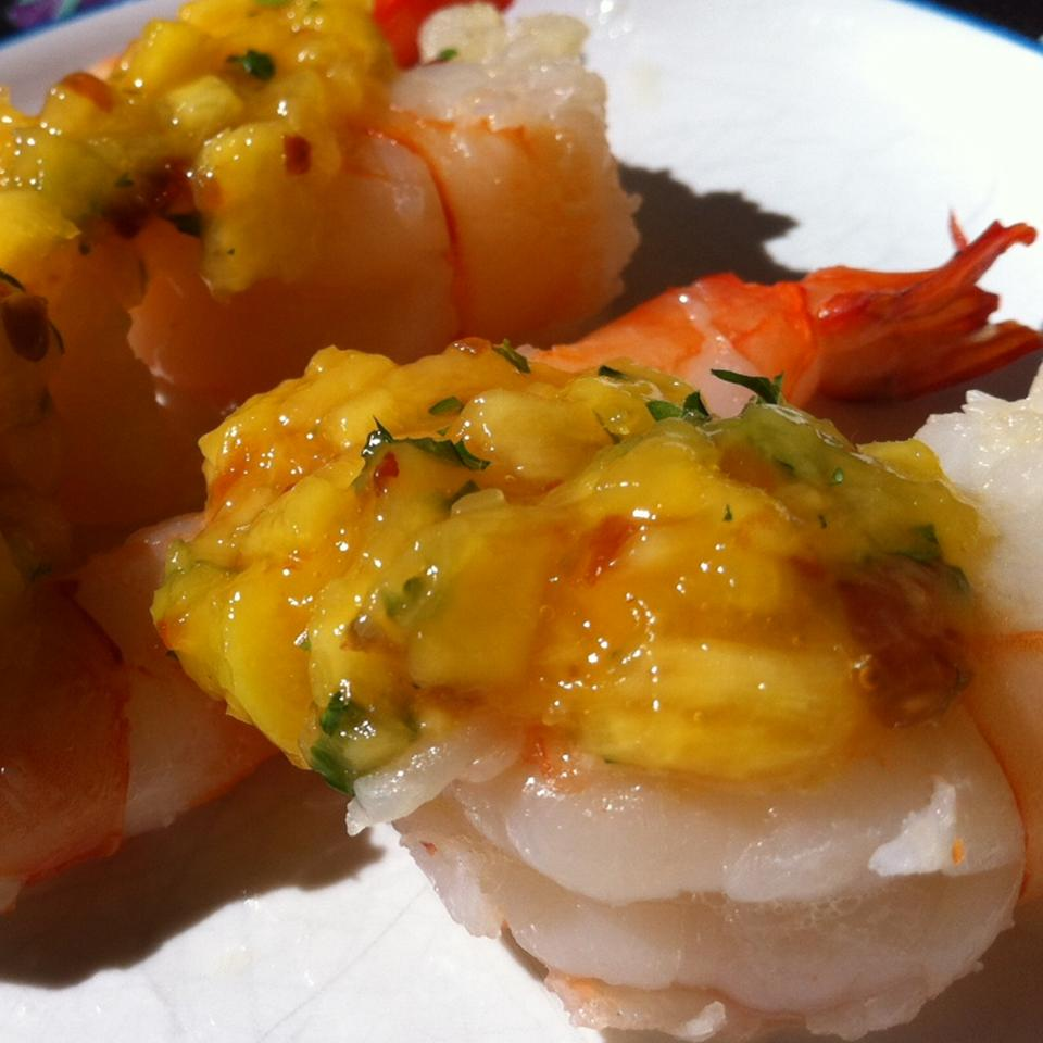 Spicy Mango Sauce Francine Lizotte Club Foody