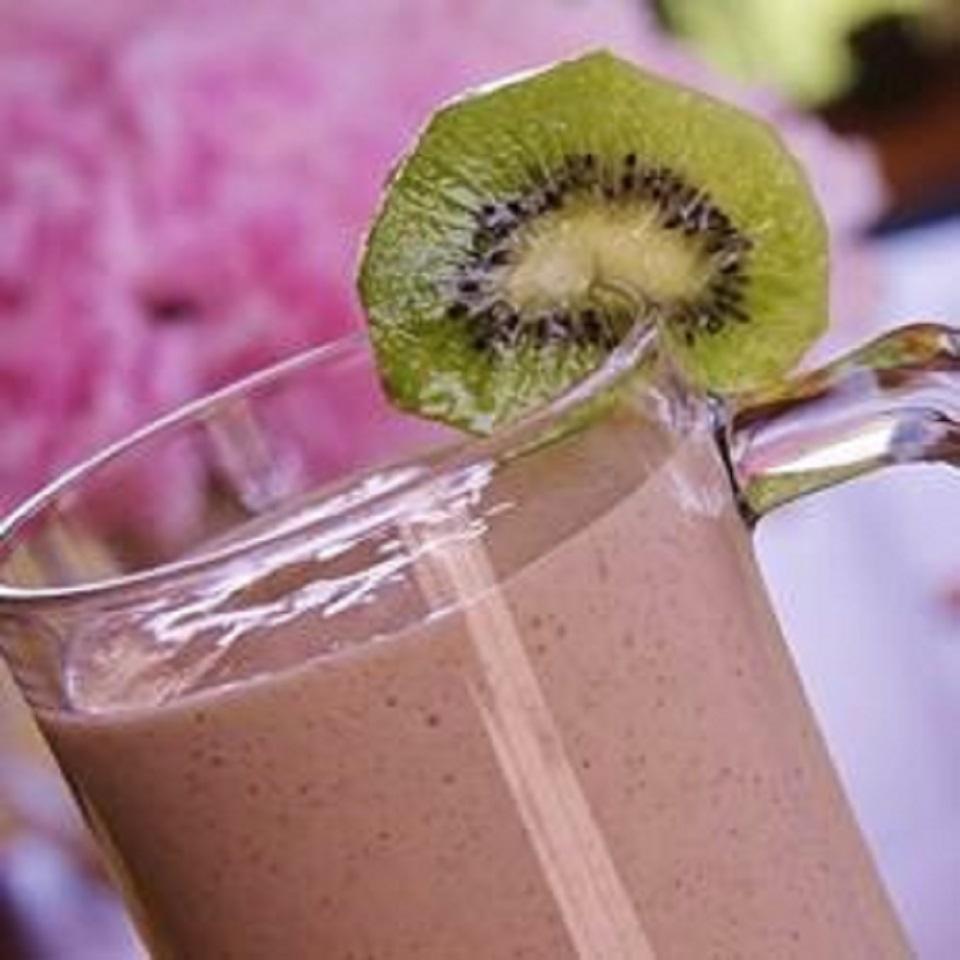 Strawberry Kiwi Milkshakes