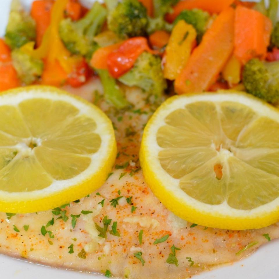 Healthier Easy Baked Tilapia Lela