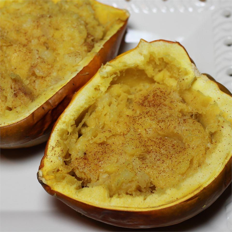 Pineapple Cinnamon Stuffed Acorn Squash