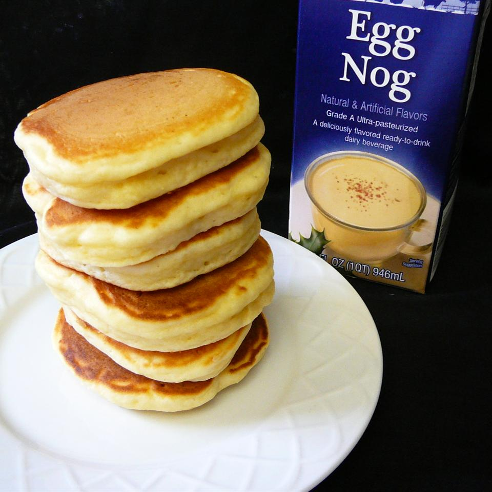 Easy Eggnog Pancakes Molly