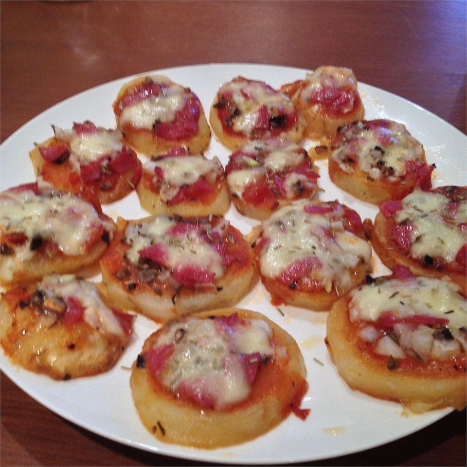 Roasted Potato Pizza Slices