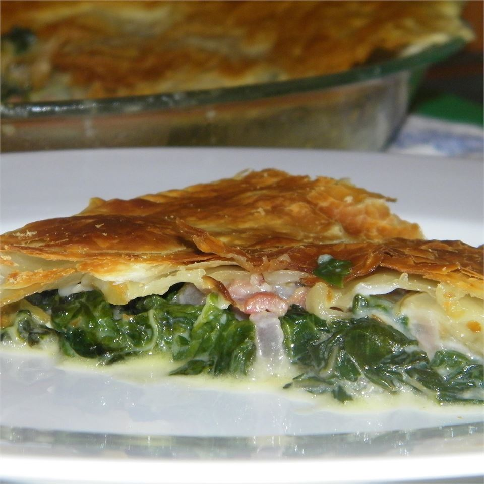 Spinach Pie with Pancetta Susan D.