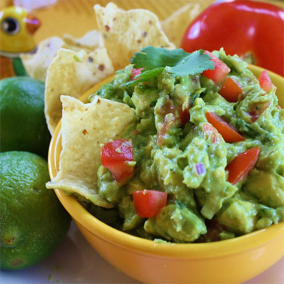 """""""This never lasts for more than a day in our house,"""" says Liam&Levi'sMommy. """"If you like guacamole, you will LOVE this recipe."""""""