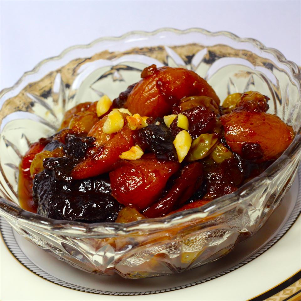 Really, Truly Gorgeous Dried Fruit Salad
