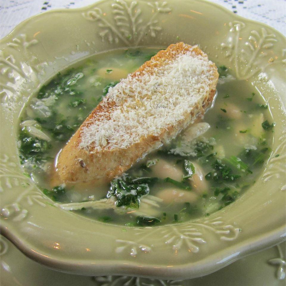Creamy Italian White Bean Soup