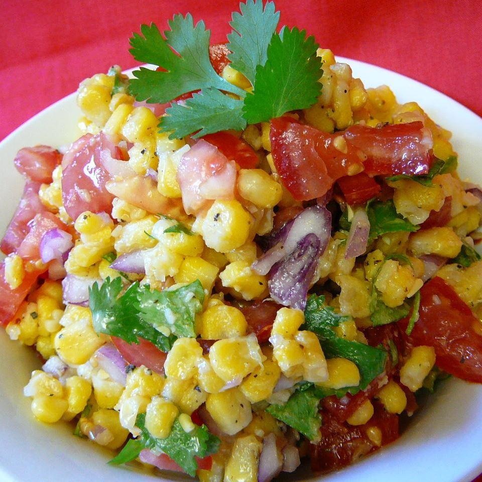 Cilantro Tomato Corn Salad Molly