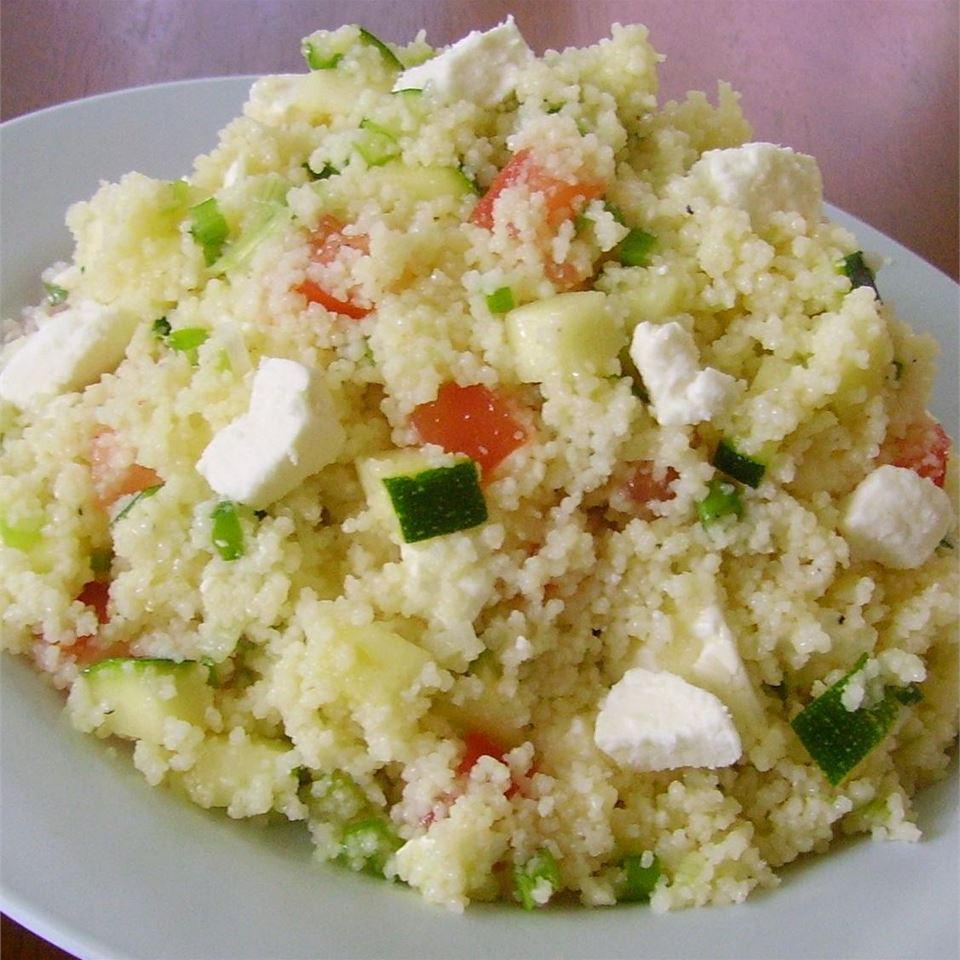 Zesty Greek Couscous