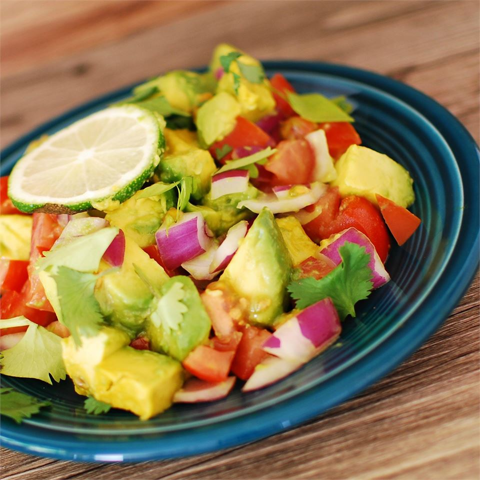 Persian-Style Tomato Avocado Salad