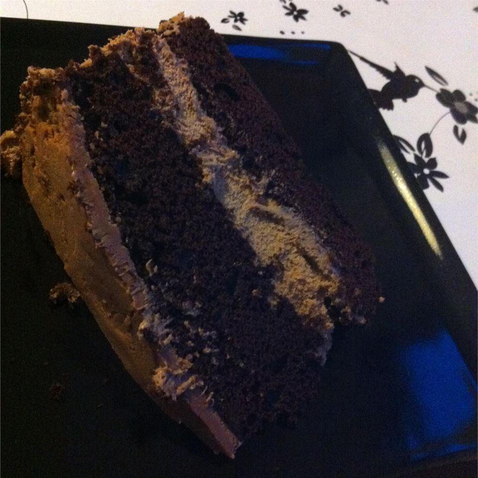Fudge Layer Cake Mia Poulsen