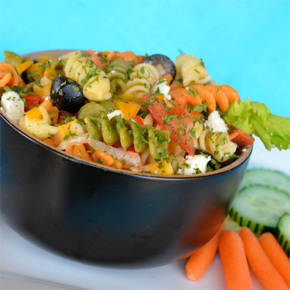 Greek Pasta Salad Lela