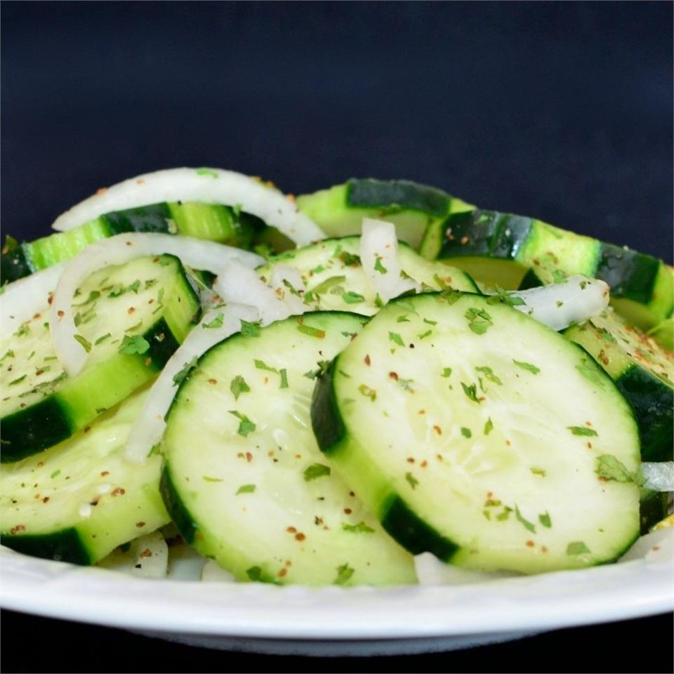 Lemony Cucumbers Lela