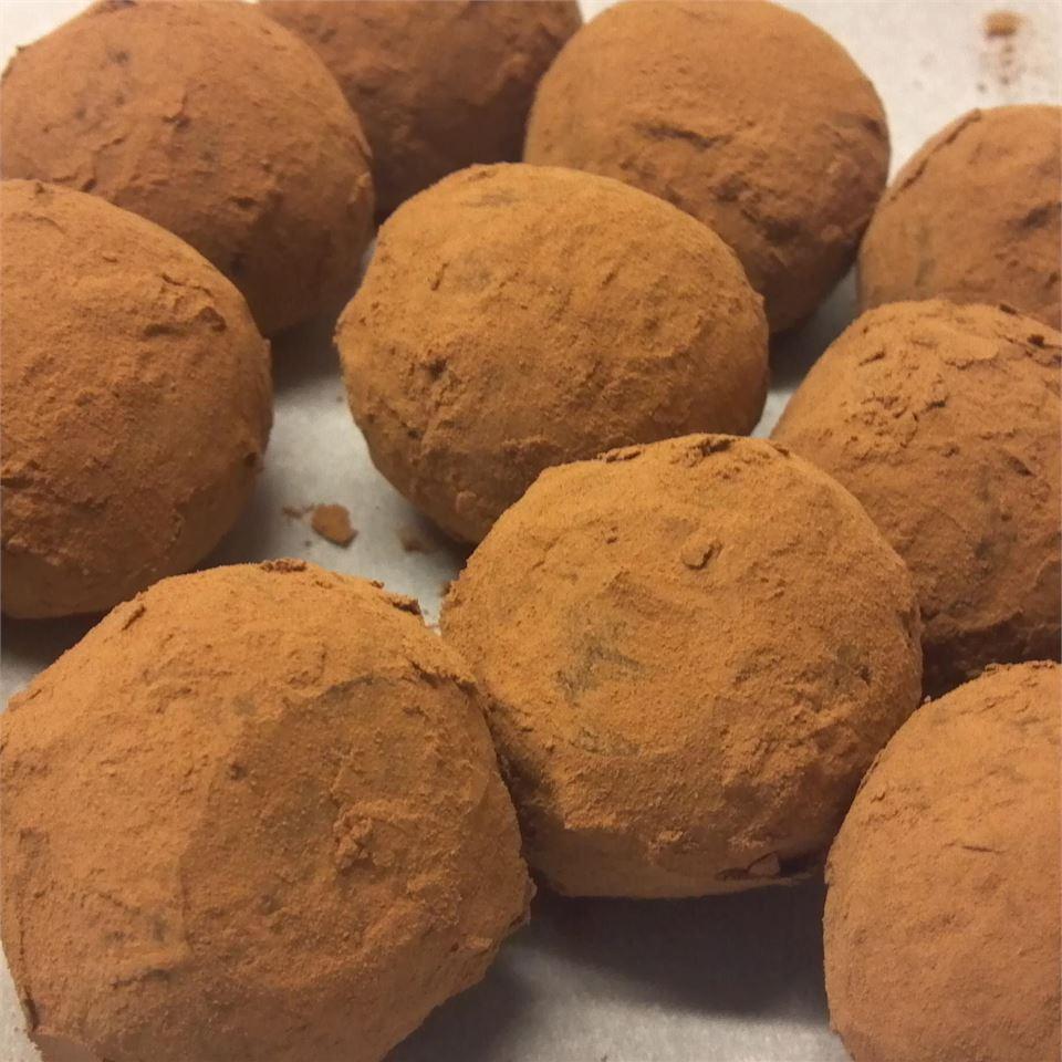 Easy Decadent Truffles