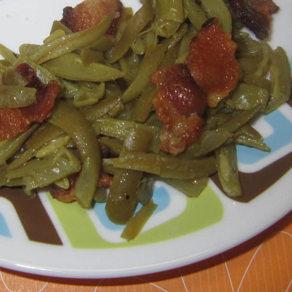 Green Bean and Bacon Saute Faith N