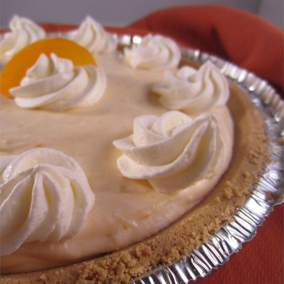 Quick and Easy Peach Cheesecake lchoward