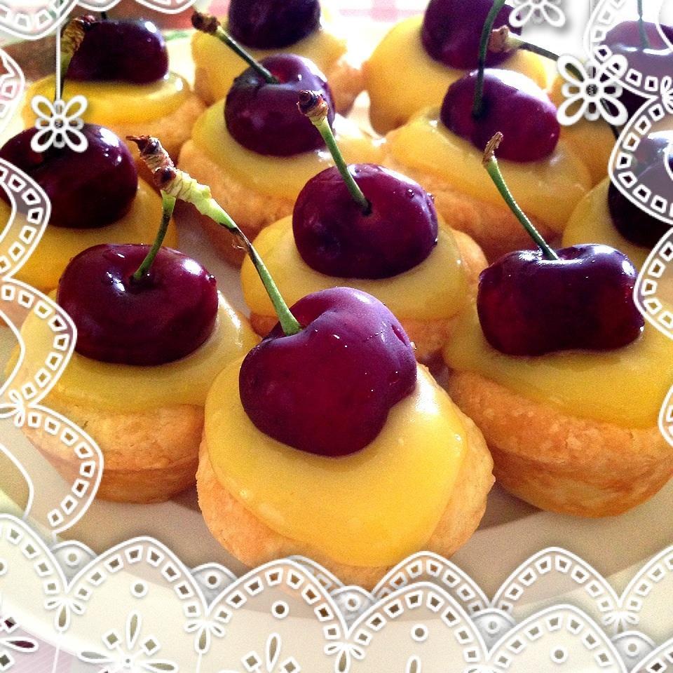 Lemon Curd Tassies Karen Ng