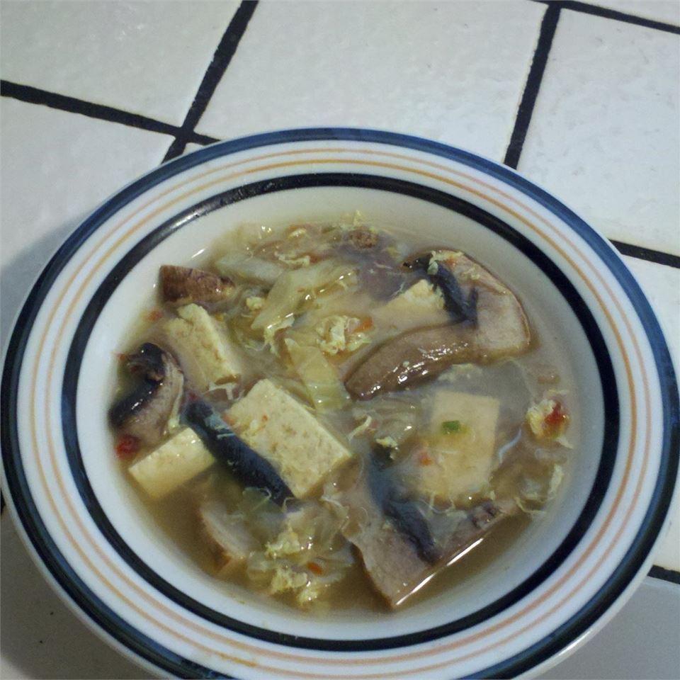 Hot and Sour Tofu Soup (Suan La Dofu Tang) just_jam