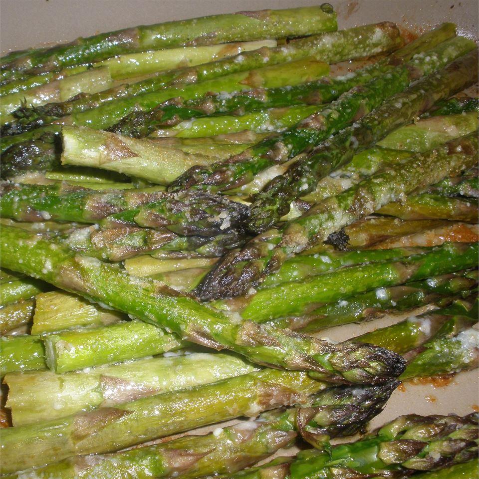 Roasted Asparagus with Parmesan