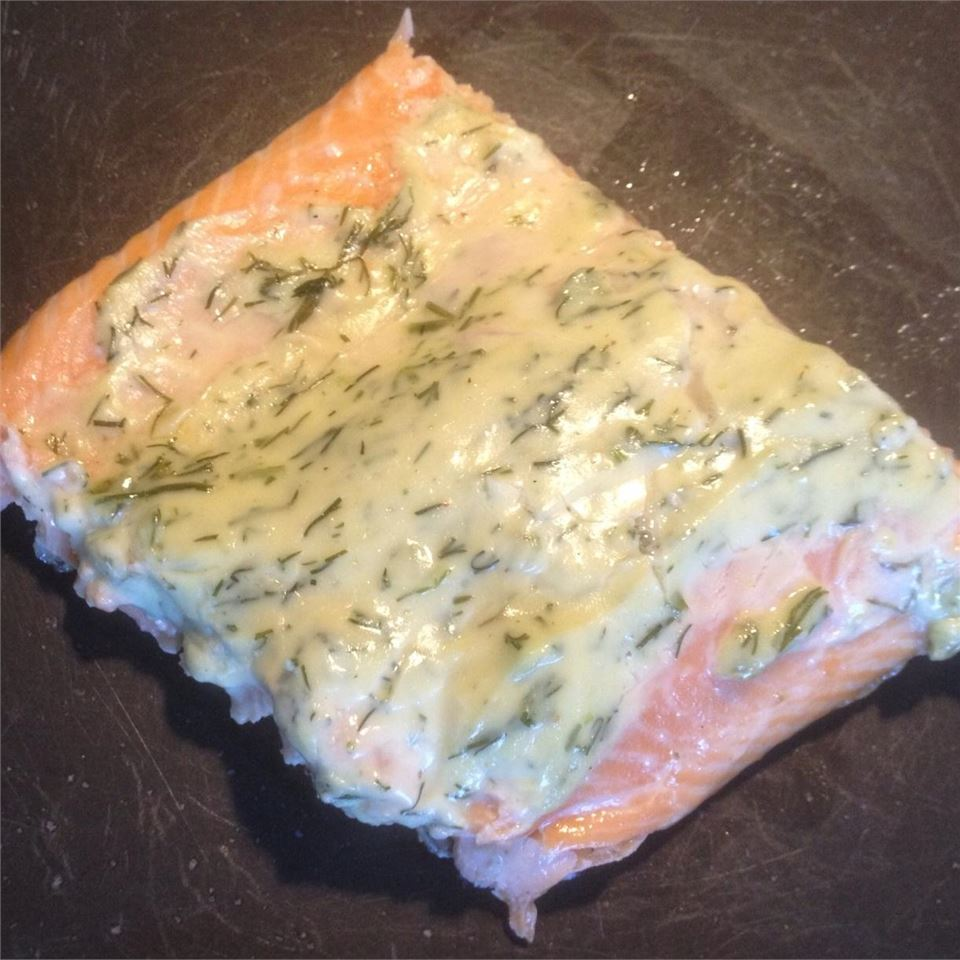 Grilled Salmon with Dill Sauce Volleyballmom