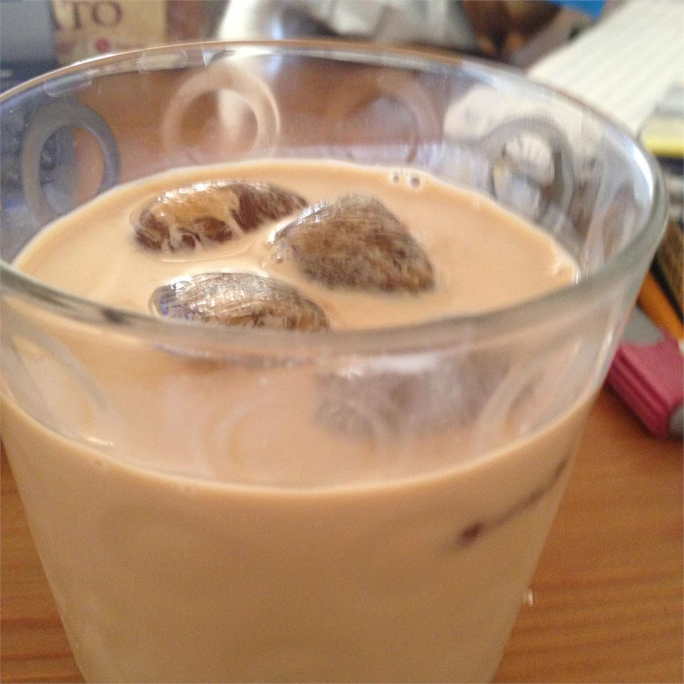 "Combine strong coffee with sweetened condensed milk, half-and-half, and a touch of vanilla extract and serve over ice! ""Delicious on hot days,"" says Kate."