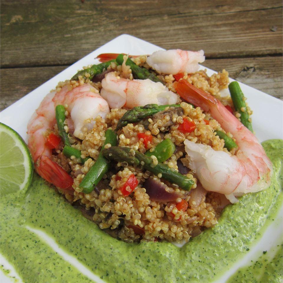 Shrimp and Quinoa BLUESP