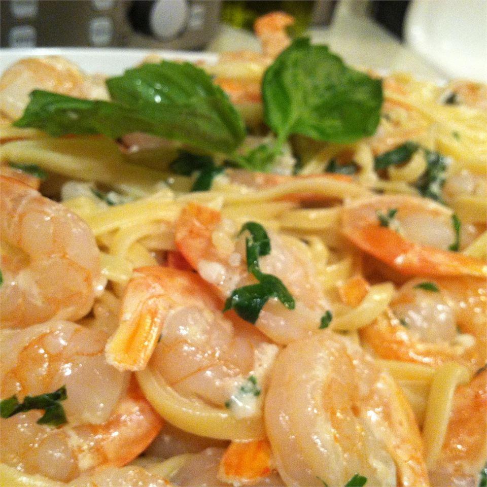 Shrimp Linguine Chef Marie