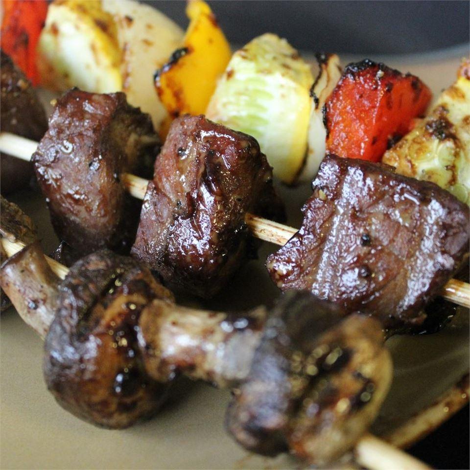 Mom's Beef Shish Kabobs mommyluvs2cook