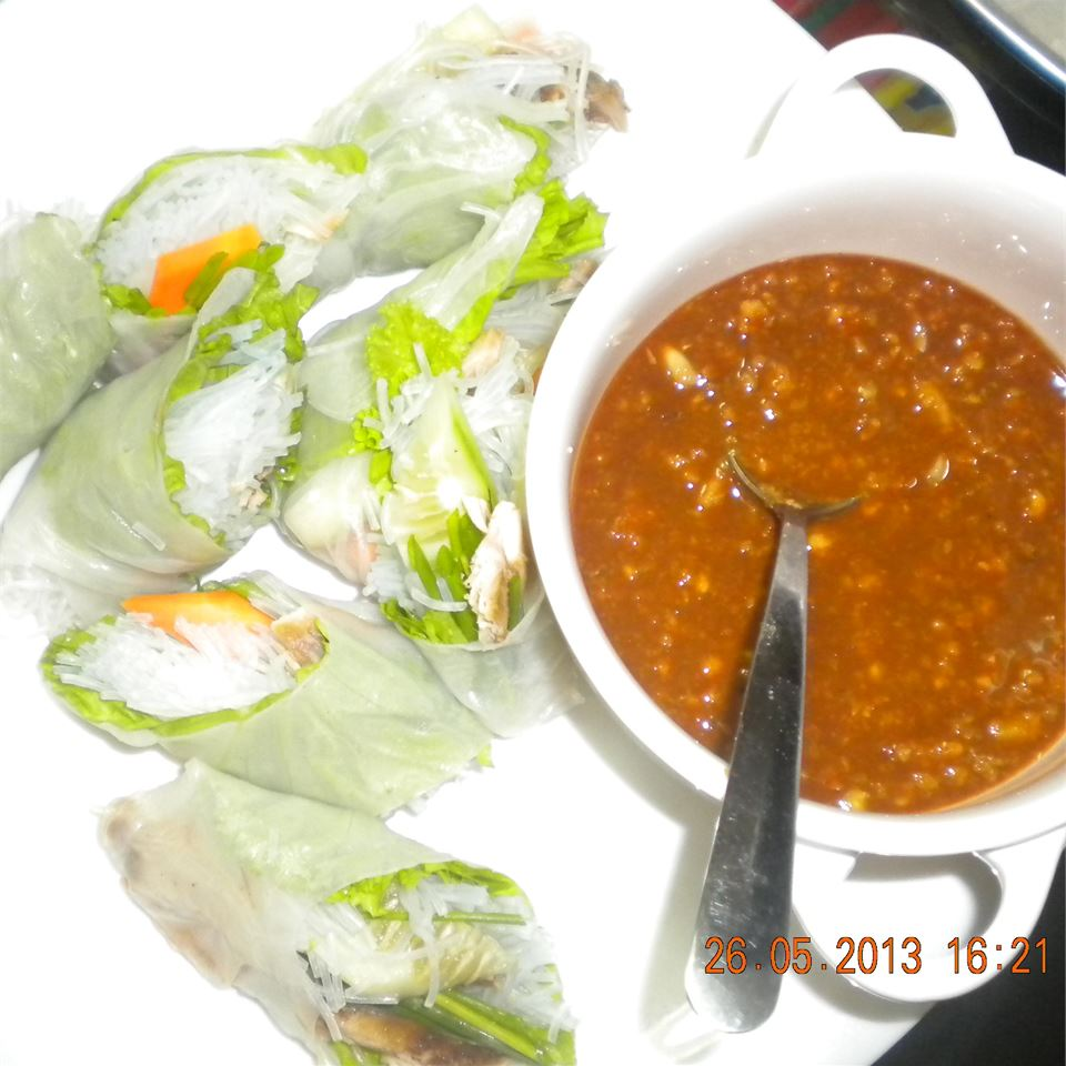Vietnamese Spring Rolls Cooking With Giselle