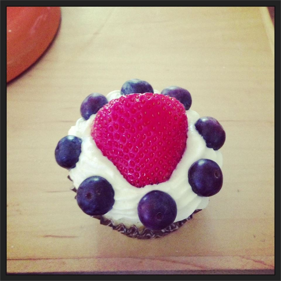 Strawberry Shortcake as Cupcakes