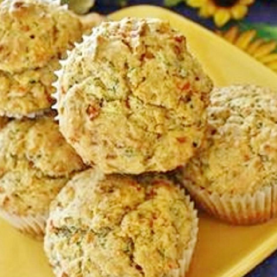 Savory Zucchini Muffins naples34102