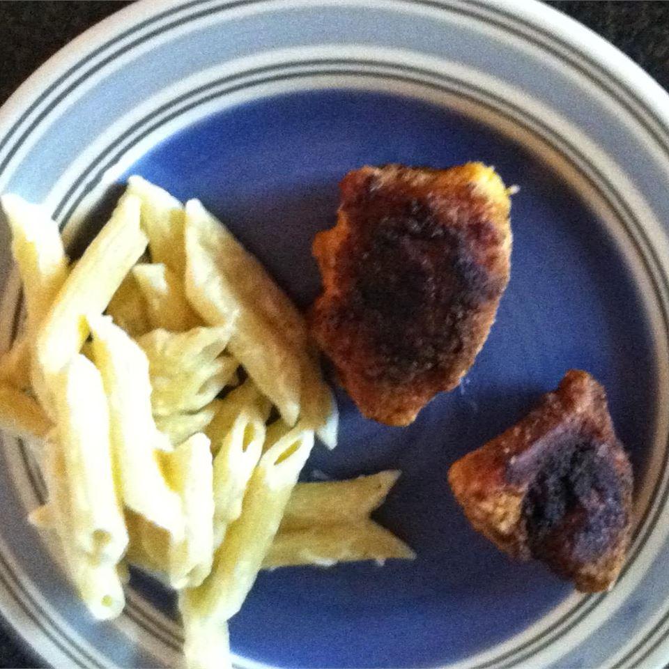 Garlic Chicken Fried Chicken