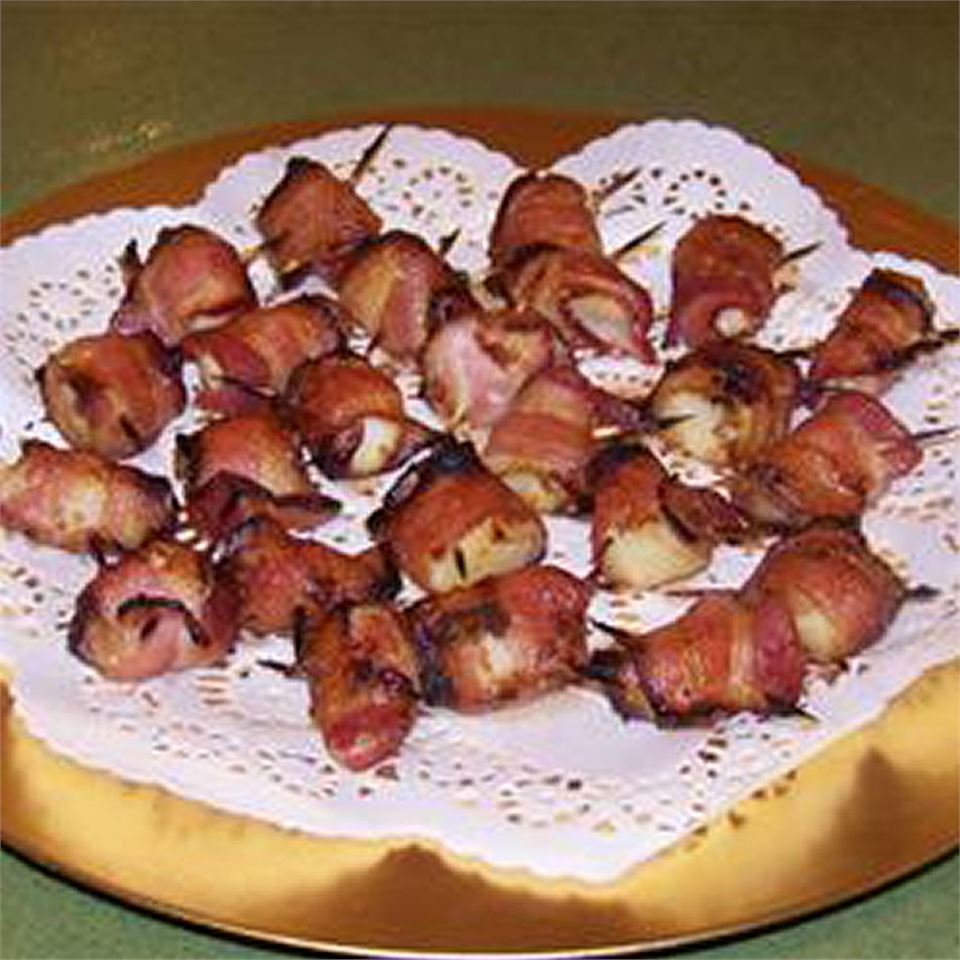 Teriyaki Bacon Wrapped Scallops Recipe ...