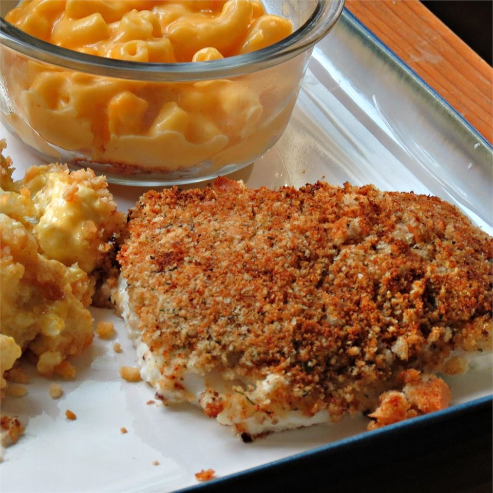 Cod with Italian Crumb Topping Chefster