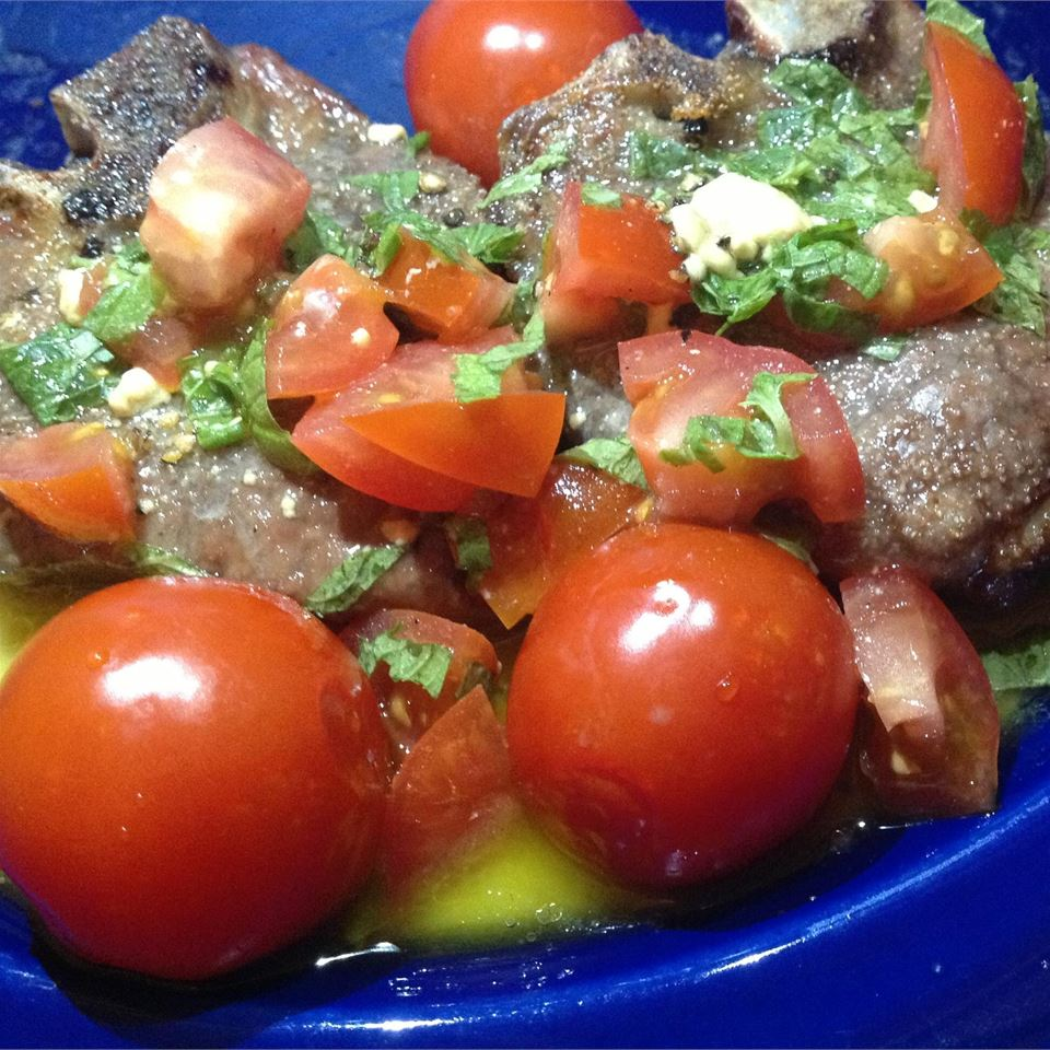 Mint-Tomato Sauce for Lamb