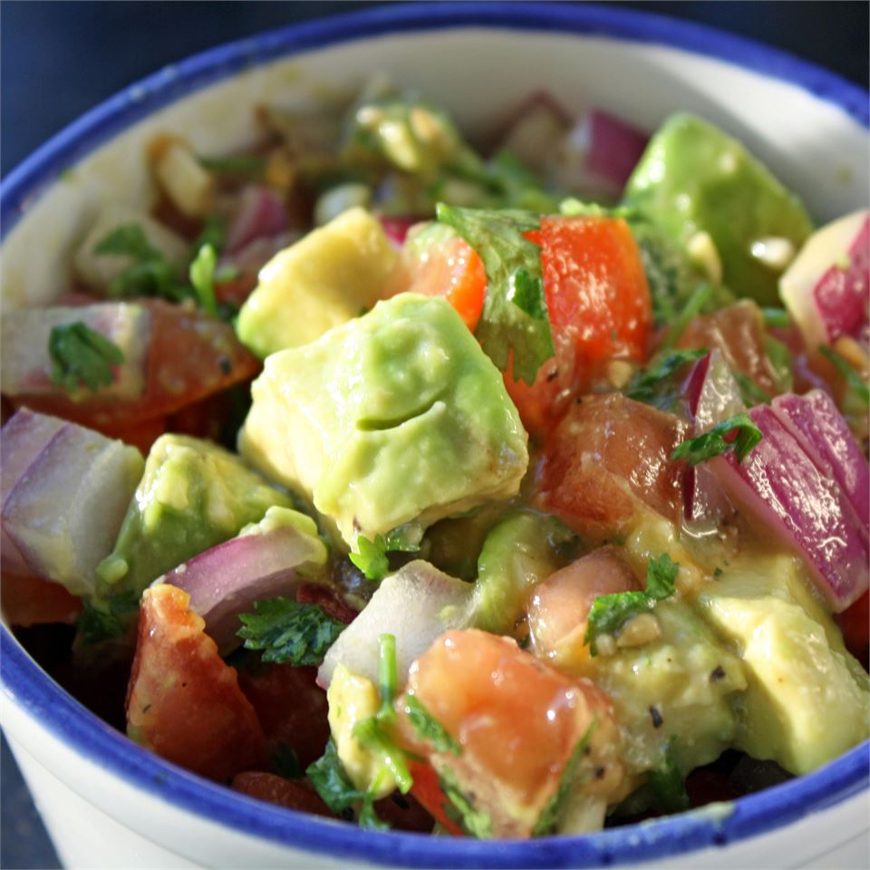Persian-Style Tomato Avocado Salad Janet Henderson