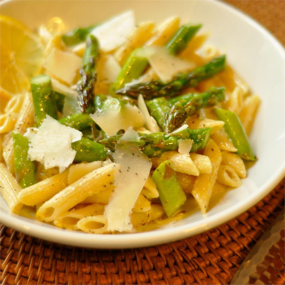 Lemon Asparagus Pasta Cookin Up A Storm