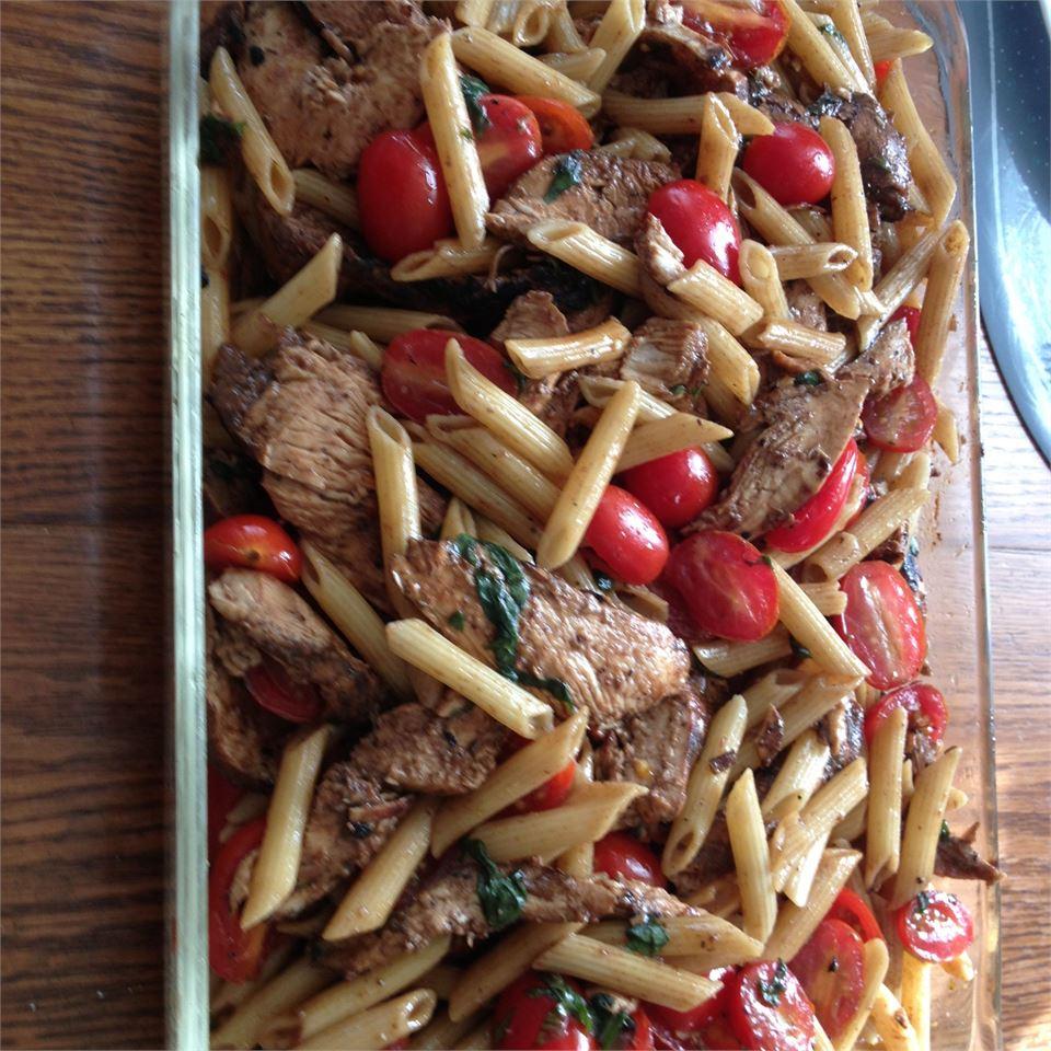 Balsamic Chicken and Pasta